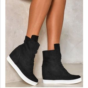 Nasty gal wedge sneakers